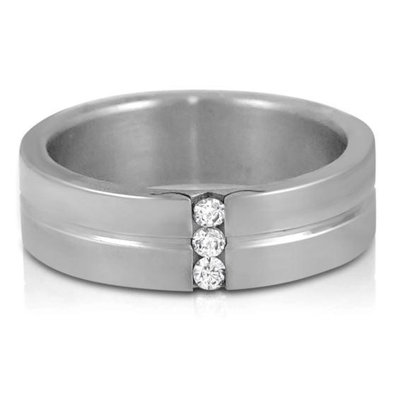 Jewelry Stainless Steel Cubic Zirconia Women