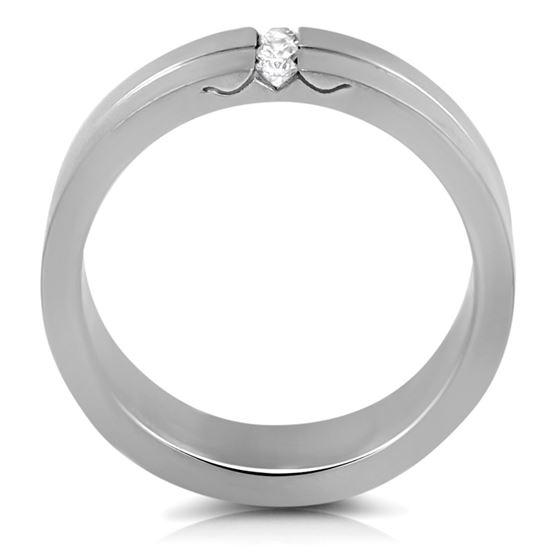 Jewelry Stainless Steel Cubic Zirconia Women-2