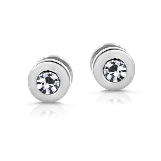 316L Surgical Stainless Steel Cubic Zirconia Screw